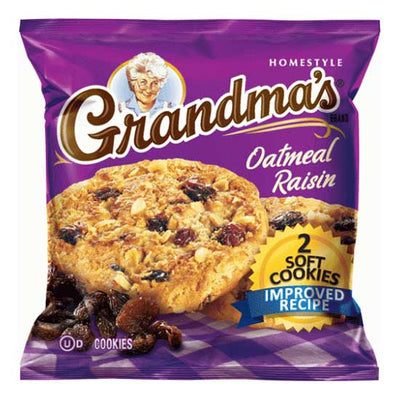 FRITO LAY GRANDMA'S COOKIES OATMEAL RAISIN - Jerry America