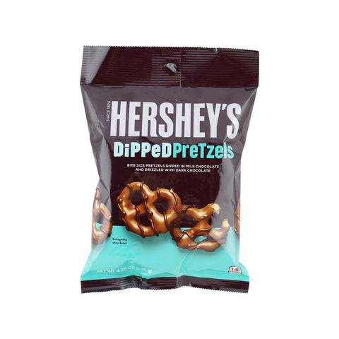 HERSHEY'S DIPPED PRETZELS 120 gr - Jerry America