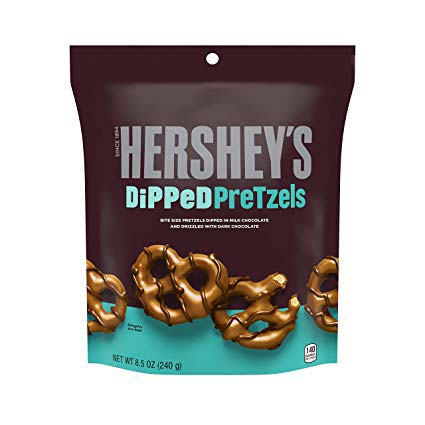 HERSHEY'S DIPPED PRETZELS 240 gr - Jerry America