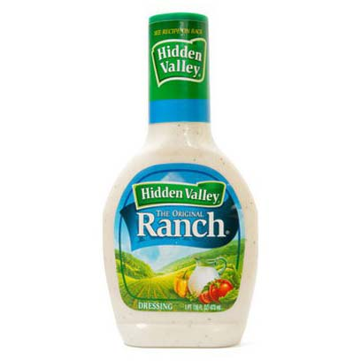 HIDDEN VALLEY RANCH CONDIMENTO PER INSALATA - Jerry America