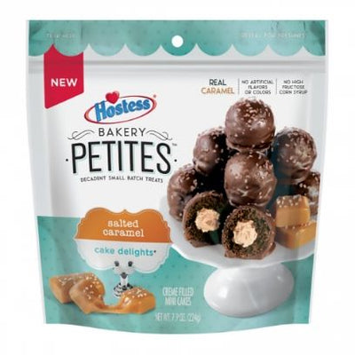 HOSTESS BAKERY PETITES SALTED CARAMEL CAKE DELIGHTS - Jerry America