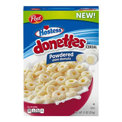 POST HOSTESS DONETTES CEREAL - Jerry America