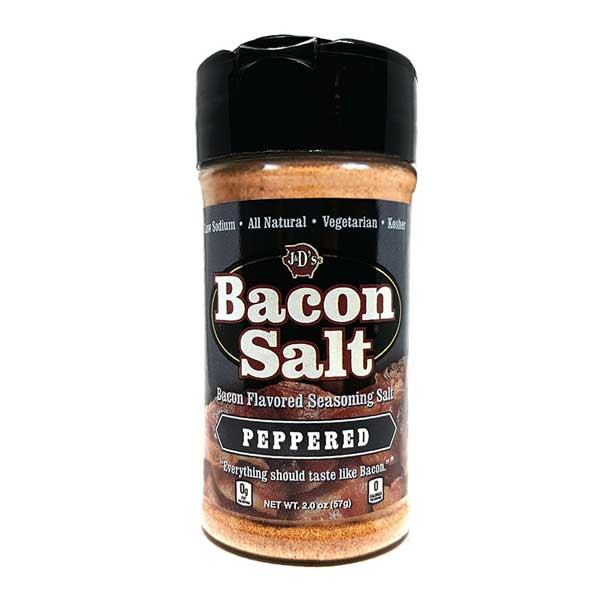 J&D'S PEPPERED BACON SALT - Jerry America