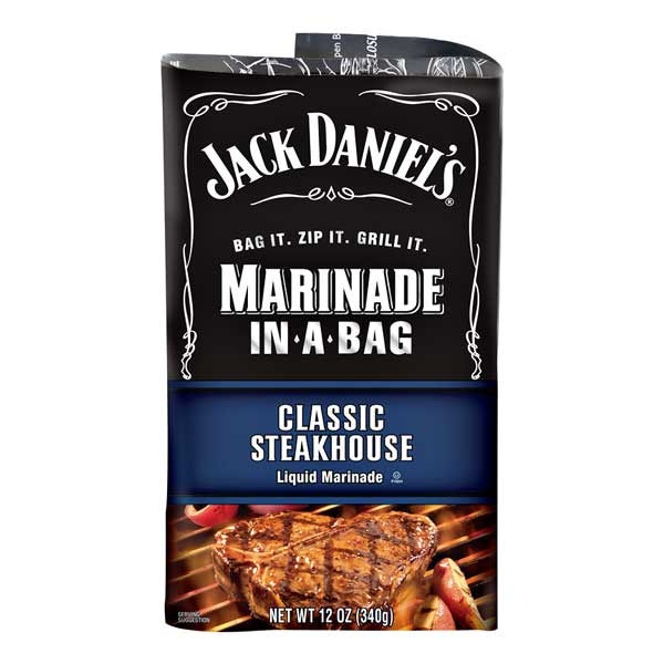 JACK DANIEL'S CLASSIC STEAKHOUSE MARINADE IN-A-BAG - Jerry America