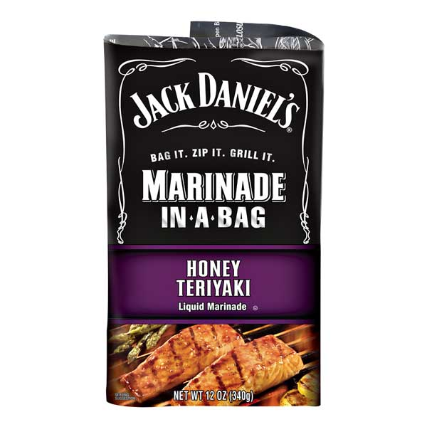 JACK DANIEL'S HONEY TERIYAKI MARINADE IN-A-BAG - Jerry America