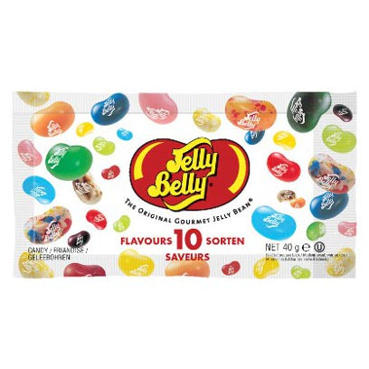 JELLY BELLY 10 FLAVOUR ASSORTED MIX 28 gr - Jerry America