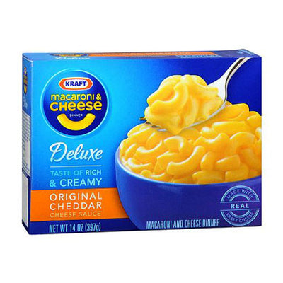 KRAFT MACARONI & CHEESE DELUXE - Jerry America