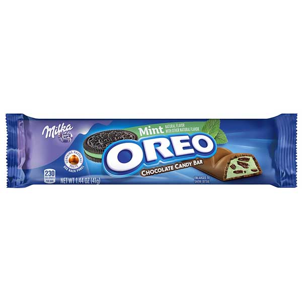 MILKA OREO CHOCOLATE MINT 41 gr - Jerry America