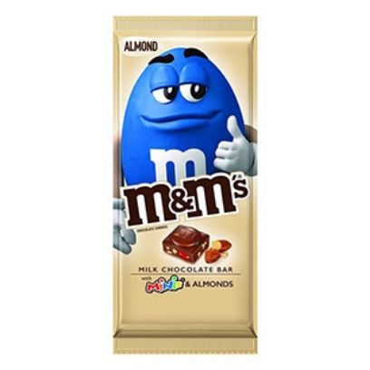 M&M ALMOND BAR WITH MINIS - Jerry America