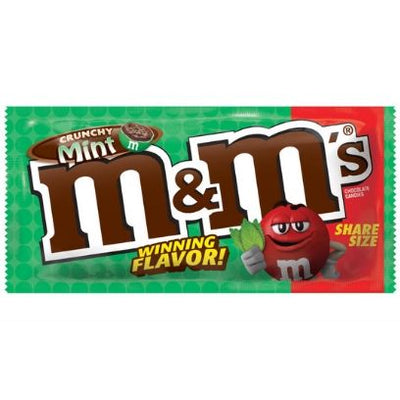 M&M CRUNCHY MINT SHARE SIZE - Jerry America