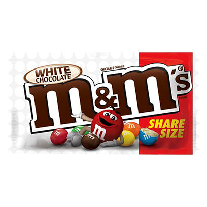 M&M WHITE CHOCOLATE SHARE SIZE - Jerry America
