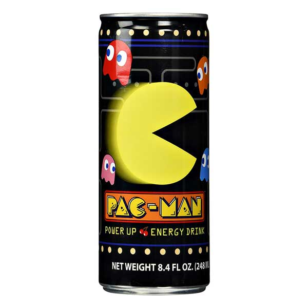 BOSTON AMERICA PAC MAN POWER UP DRINK - Jerry America