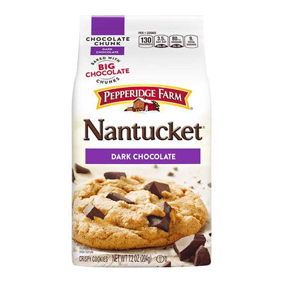 PEPPERIDGE FARM COOKIES NANTUCKET DARK CHOCOLATE - Jerry America