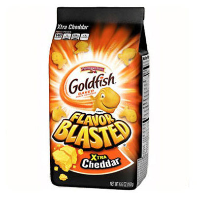 PEPPERIDGE FARM GOLDFISH EXTRA CHEDDAR CRACKERS - Jerry America
