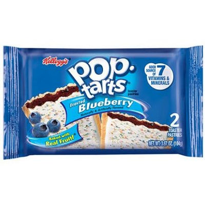 POP TARTS FROSTED BLUEBERRY 2 PACK - Jerry America