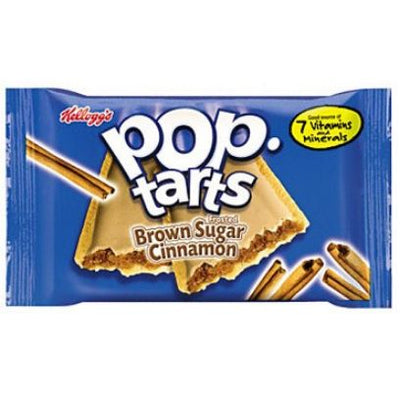POP TARTS FROSTED BROWN SUGAR CINNAMON 2 PACK - Jerry America
