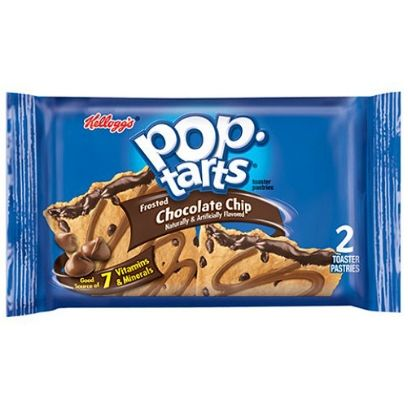 POP TARTS FROSTED CHOCOLATE CHIP 2 PACK - Jerry America