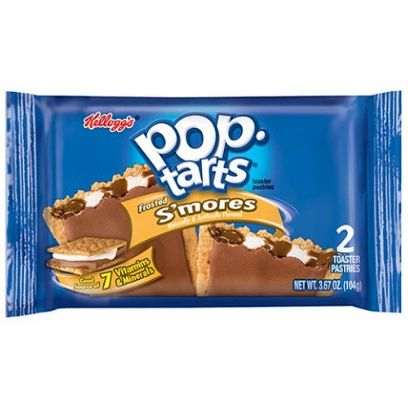 POP TARTS FROSTED SMORES 2 PACK - Jerry America