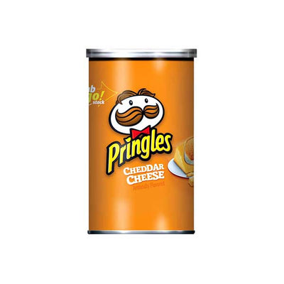 PRINGLES CHEDDAR CHEESE GRAB & GO - Jerry America
