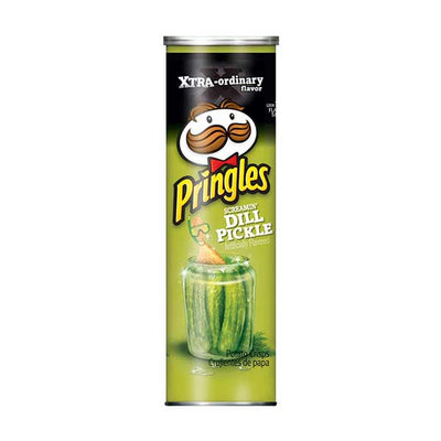 PRINGLES EXTREME SCREAMIN' DILL PICKLE - Jerry America