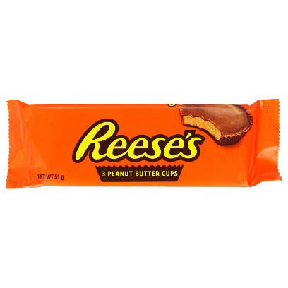 REESE'S 3 PEANUT BUTTER CUP - Jerry America