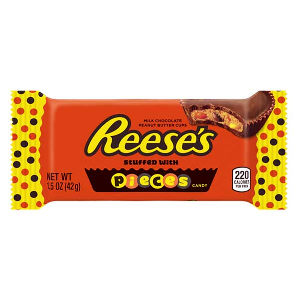 REESE'S PIECES PEANUT BUTTER CUPS 42 gr - Jerry America