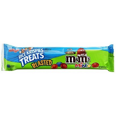 RICE KRISPIES TREATS WITH M&M'S BIG BAR - Jerry America