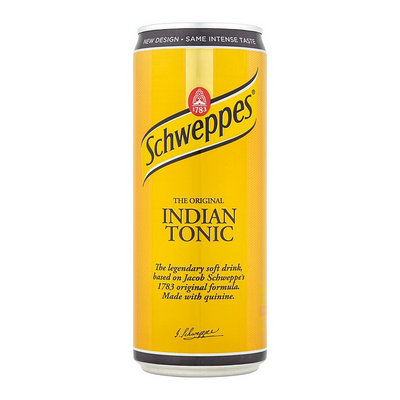 SCHWEPPES INDIAN TONIC 330 ml - Jerry America