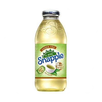SNAPPLE GREEN TEA - Jerry America