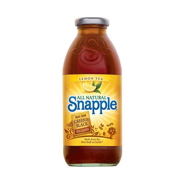 SNAPPLE LEMON TEA - Jerry America