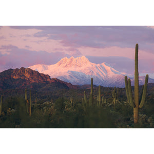 Snow Capped Four Peaks