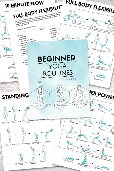 Beginner Yoga Routines PDF E-Book