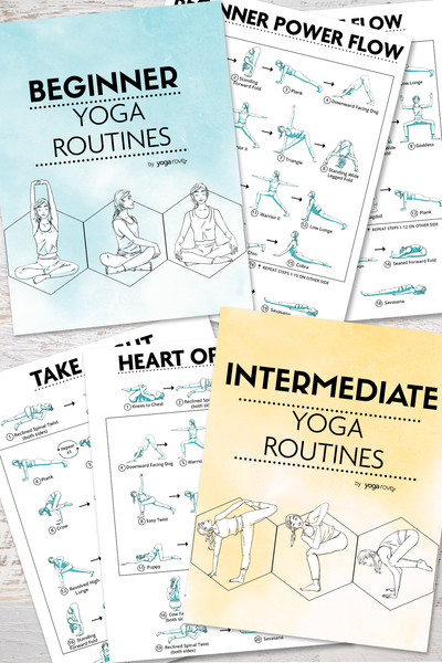 Yoga Routines PDF E-Book Bundle