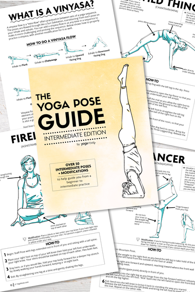 The Yoga Pose Guide: Intermediate Edition E-Book