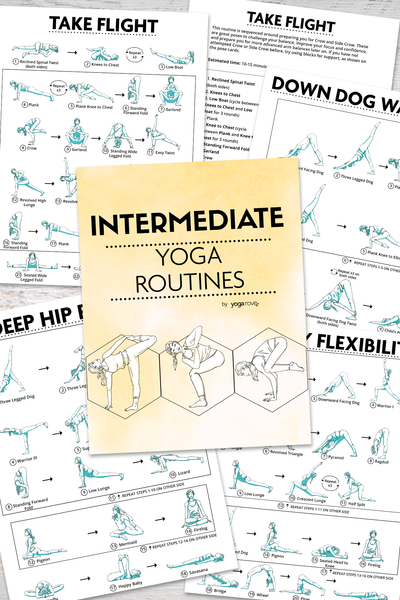 Intermediate Yoga Routines PDF E-Book