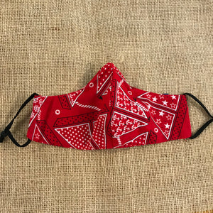 Red Nautical Bandana- KIDS
