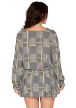 Load image into Gallery viewer, GREY CHECKS DRESS
