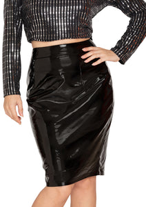 PARTY WEAR SKIRT BLACK