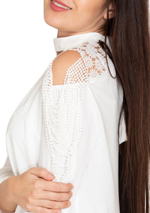 EMBROIDED WHITE TOP