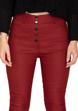 Load image into Gallery viewer, RED CHECK TROUSER