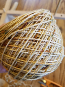 Parchment, Hand dyed yarn, Fingering weight, sock weight, sport weight, DK weight, Worsted weight, Bulky Weight