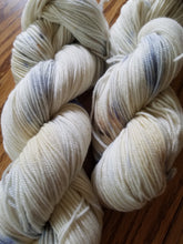 Load image into Gallery viewer, Marble, hand dyed yarn, sport weight yarn, 100% Non-superwash Merino