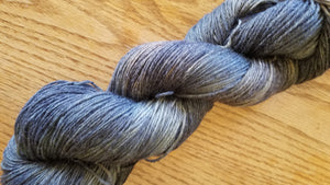 Mountain Top, hand dyed yarn, fingering weight, sock, sport weight, dk weight, worsted weight, bulky