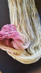 Winter Solstice, Hand dyed yarn, Worsted Weight, 100% non-superwash Merino
