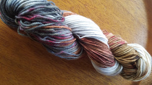 Chicken Rancher,Hand dyed yarn, Fingering weight, sock weight, sport weight, DK weight, Worsted weight, Bulky