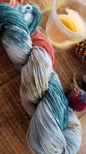 Load image into Gallery viewer, In the Meadow, Painterly Series, Hand dyed yarn, Fingering weight, sock weight, sport weight, DK weight, Worsted weight, Bulky