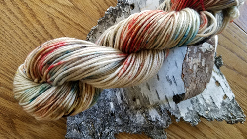 Crossing, Hand dyed yarn, Fingering weight, sock weight, sport weight, DK weight, Worsted weight, Bulky Weight