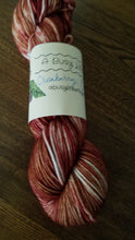 Load image into Gallery viewer, Cranberry Crush, Hand dyed worsted weight yarn