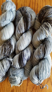 Geese in the Sky, Fingering weight, sock weight, sport weight, DK weight, Worsted weight, Bulky Weight