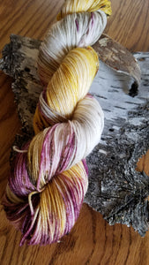 I Love Fall, Hand dyed yarn,Fingering Weight, Sock Weight, Sport Weight,DK weight, Worsted Weight, Bulky
